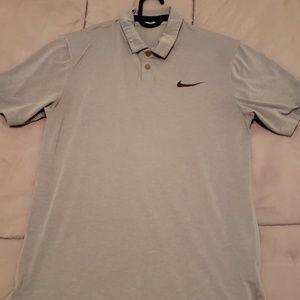 Nike golf polo M gray